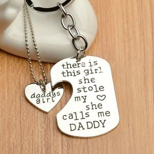 Other - Nwt daddy daughter  key chain + necklace